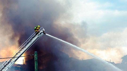 AMA Insurance | Fire Brigade at Work