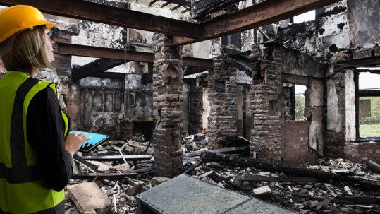 AMA Insurance | Fire Damage Image